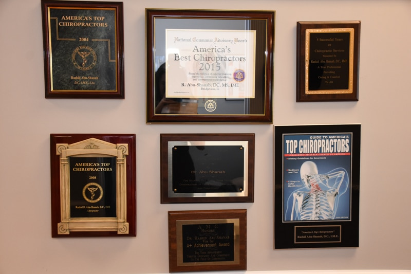 Chiropractic Romeoville IL Certificates