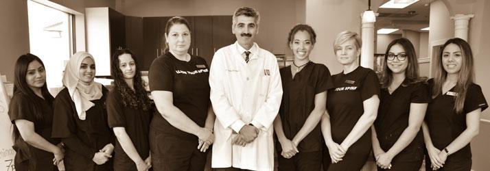 Chiropractic Romeoville IL staff
